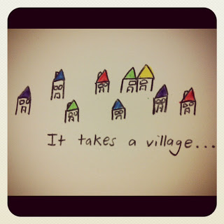 It Takes A Village – Bern Morley