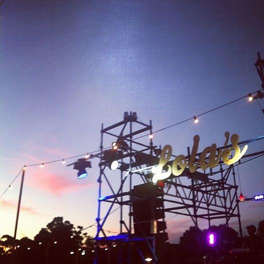 The Adelaide Festival – Lola's Pergola