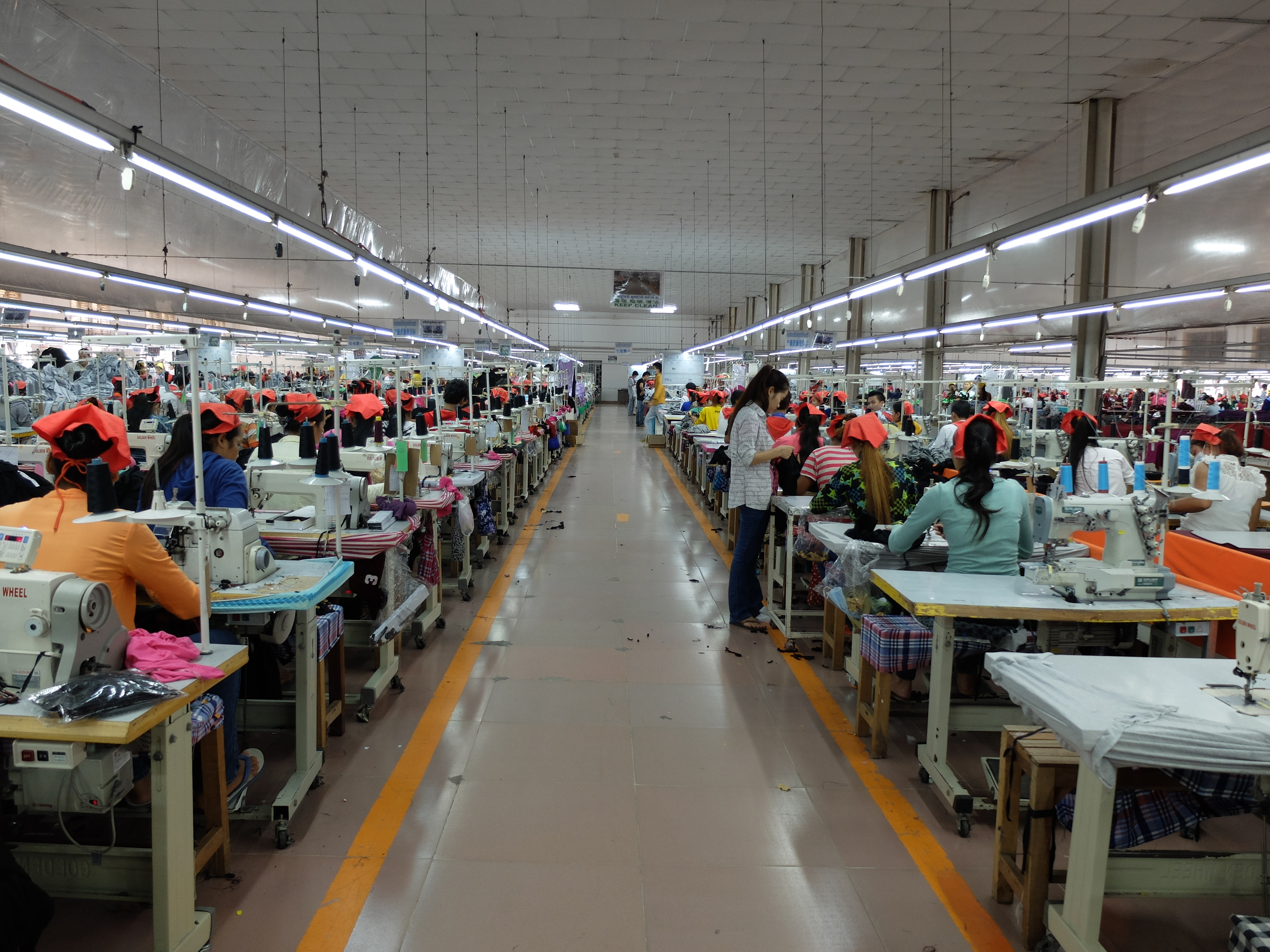 Cambodia – The Factory